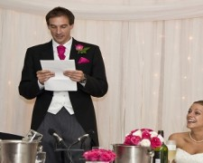 Deliver an Enthusiastic Wedding Speech
